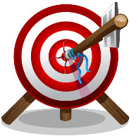 arrow-on-target