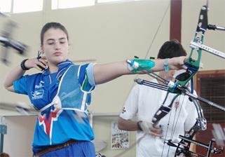 Pia Lionetti Campionessa europea Juniores  inddor 2004
